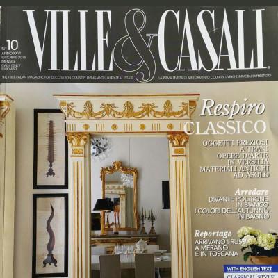 Articolo L'Agorà su Ville & Casali 2015